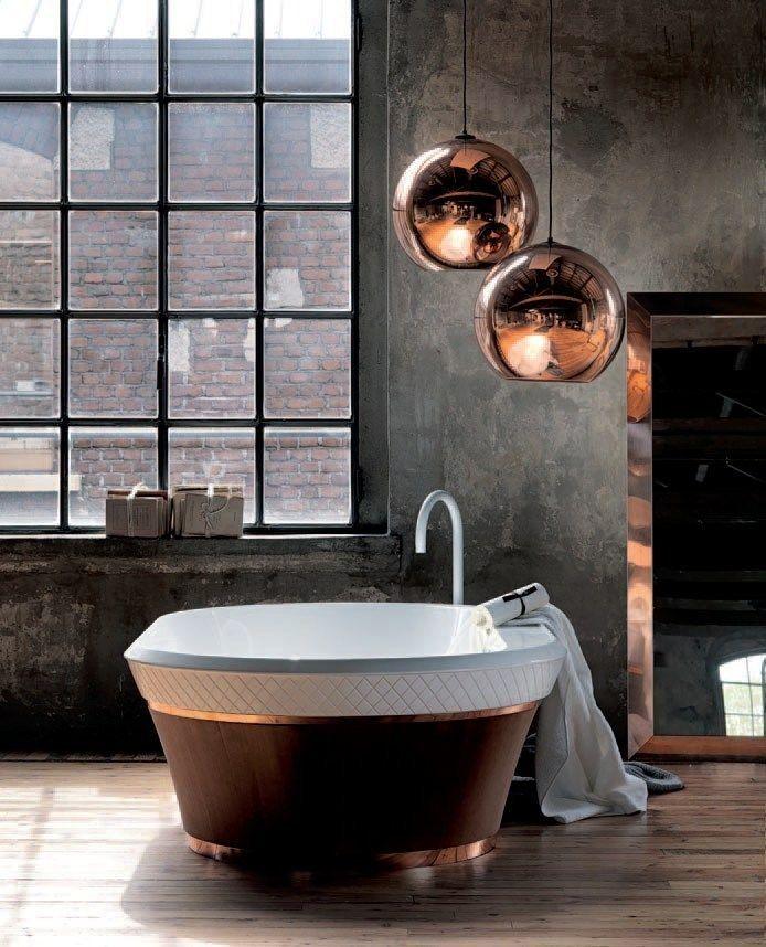 cobre en el baño